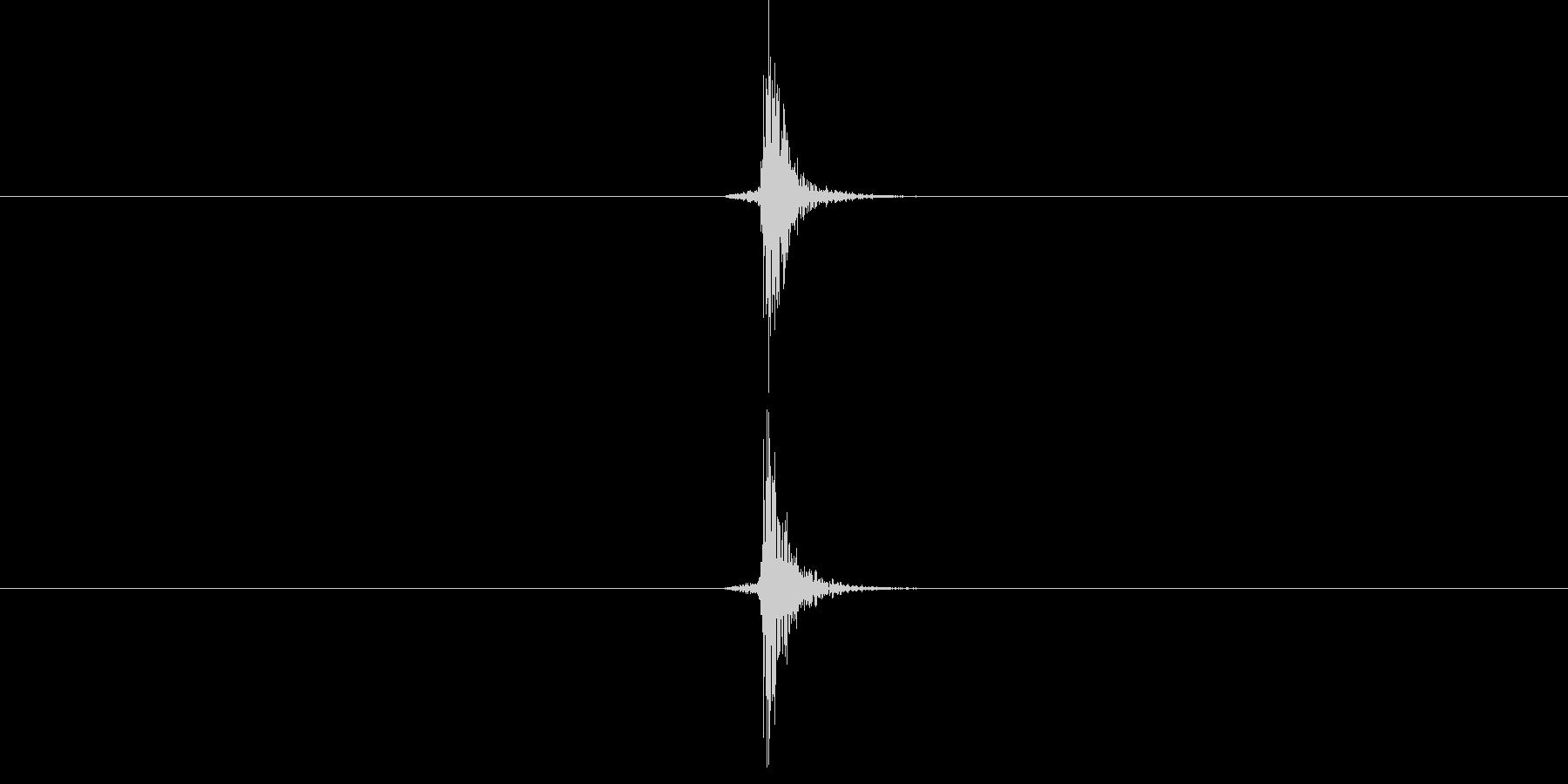 【生音】手・叩く - 1 「ぱんっ」の未再生の波形