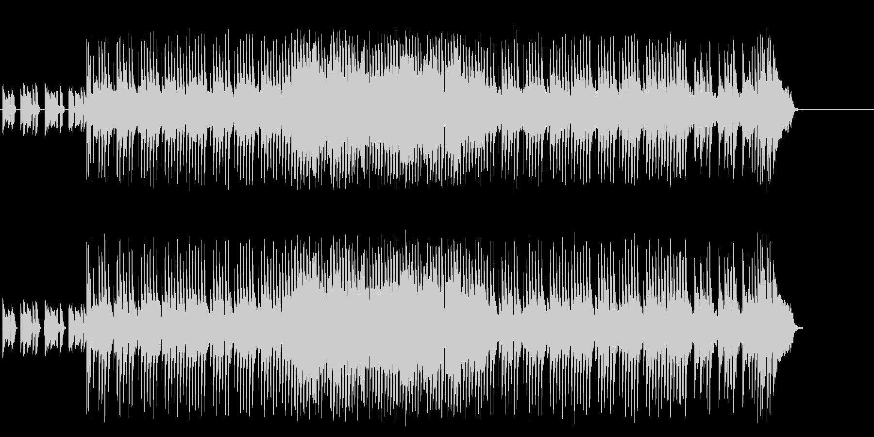 情熱的なマイナーエレクトリックポップの未再生の波形