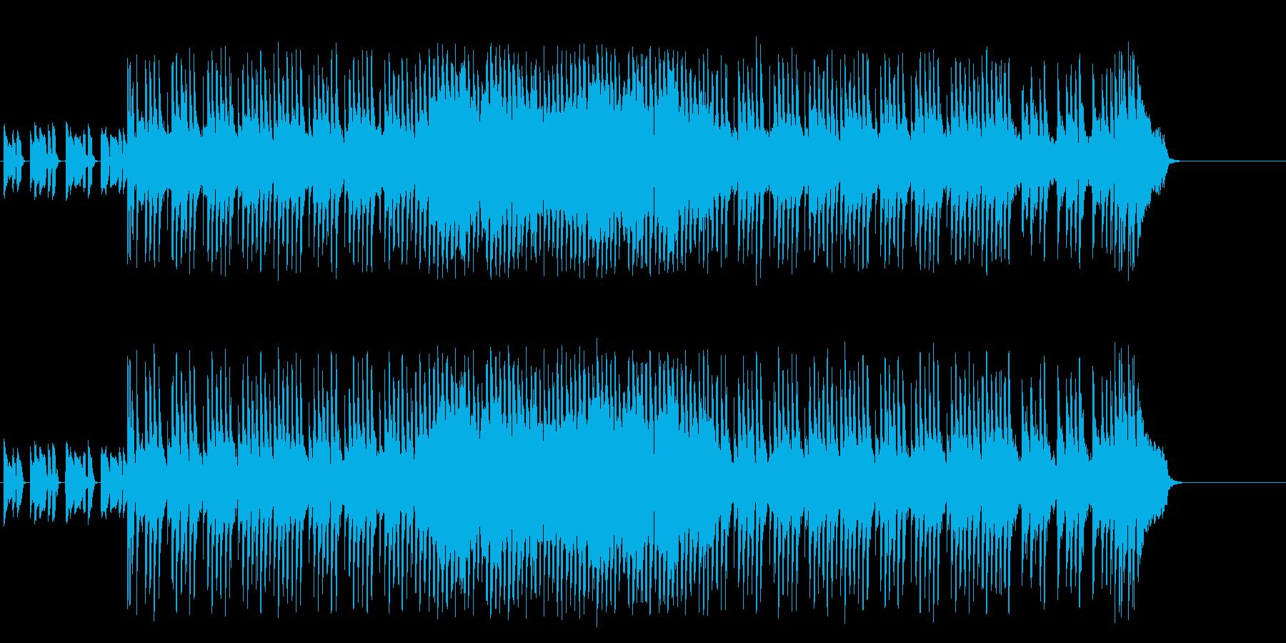 情熱的なマイナーエレクトリックポップの再生済みの波形