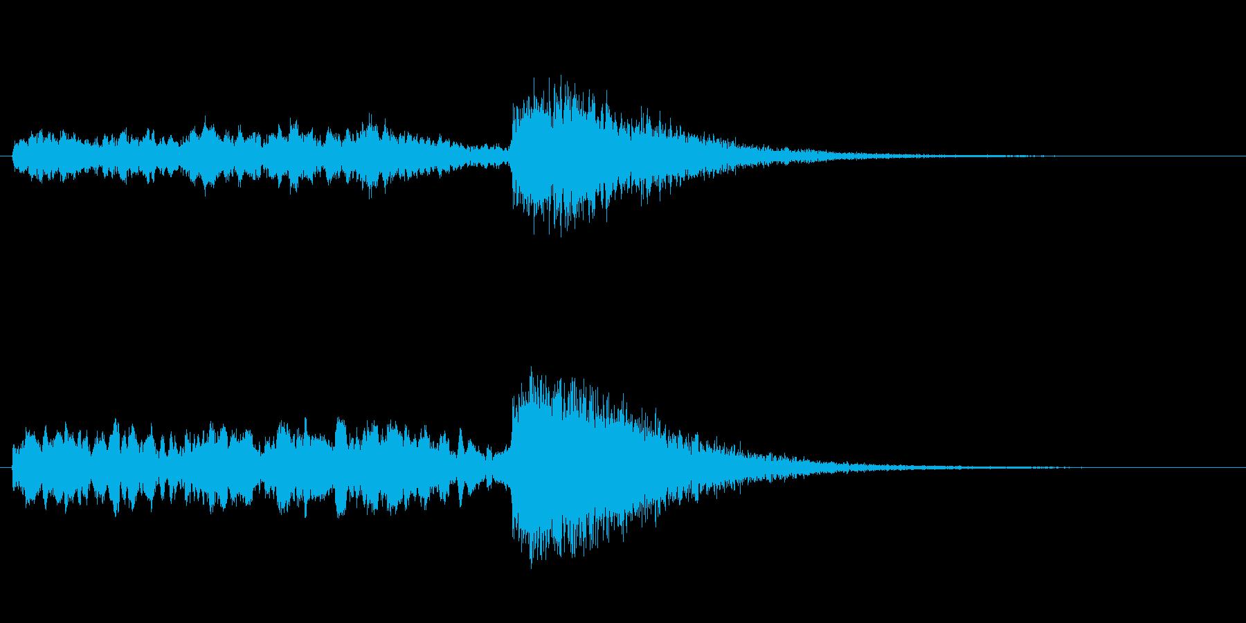 氷魔法のイメージですの再生済みの波形