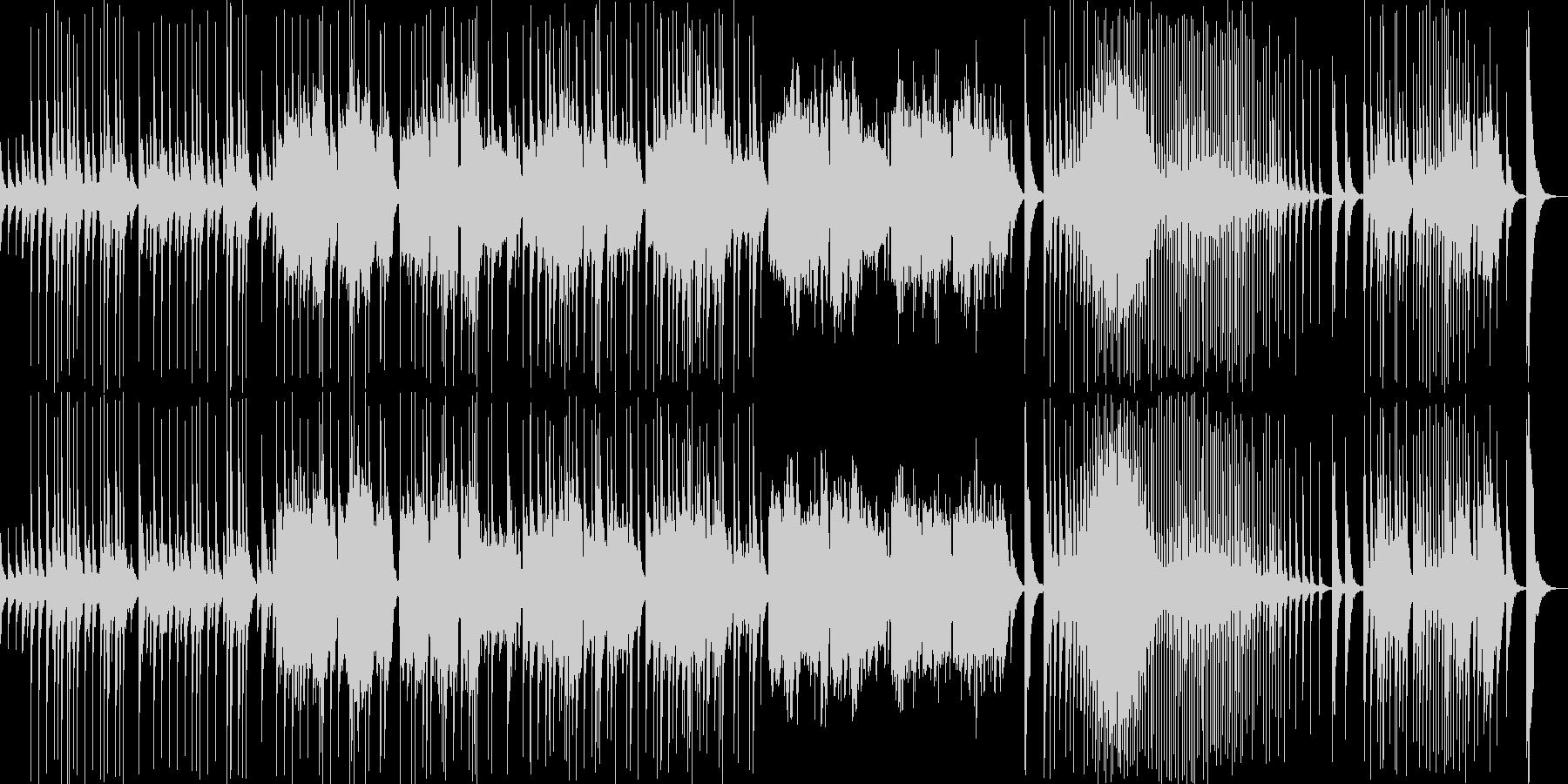 伝統的な日本音楽の未再生の波形