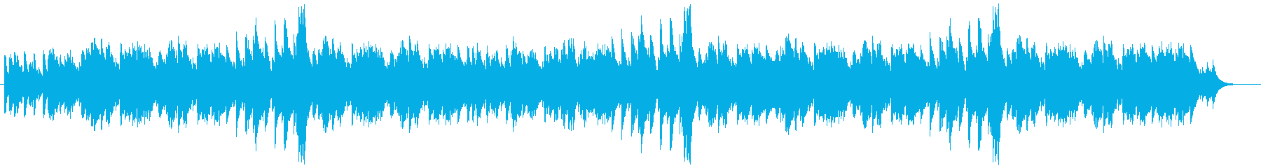 ポップでキャッチ―なオルゴール風サウンドの再生済みの波形
