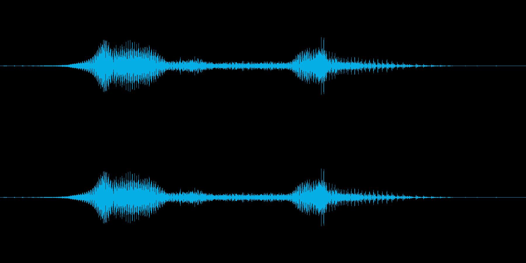ぃやっさー!和風掛け声 - 男性 -の再生済みの波形