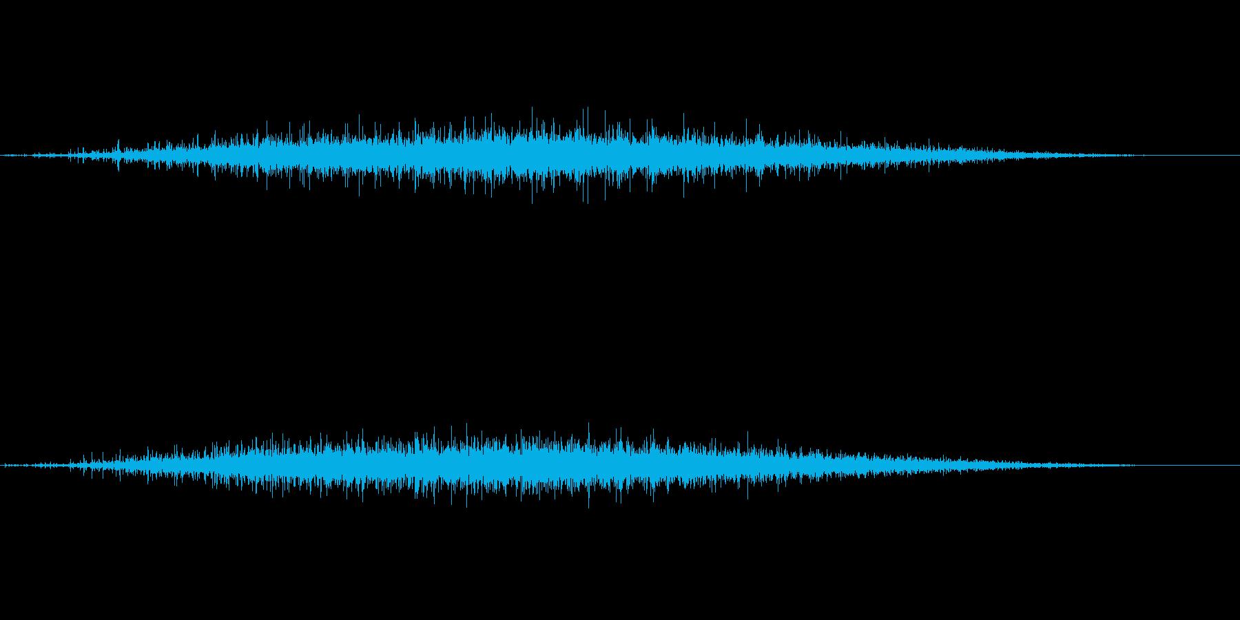拍手1 (パチパチパチ…)の再生済みの波形