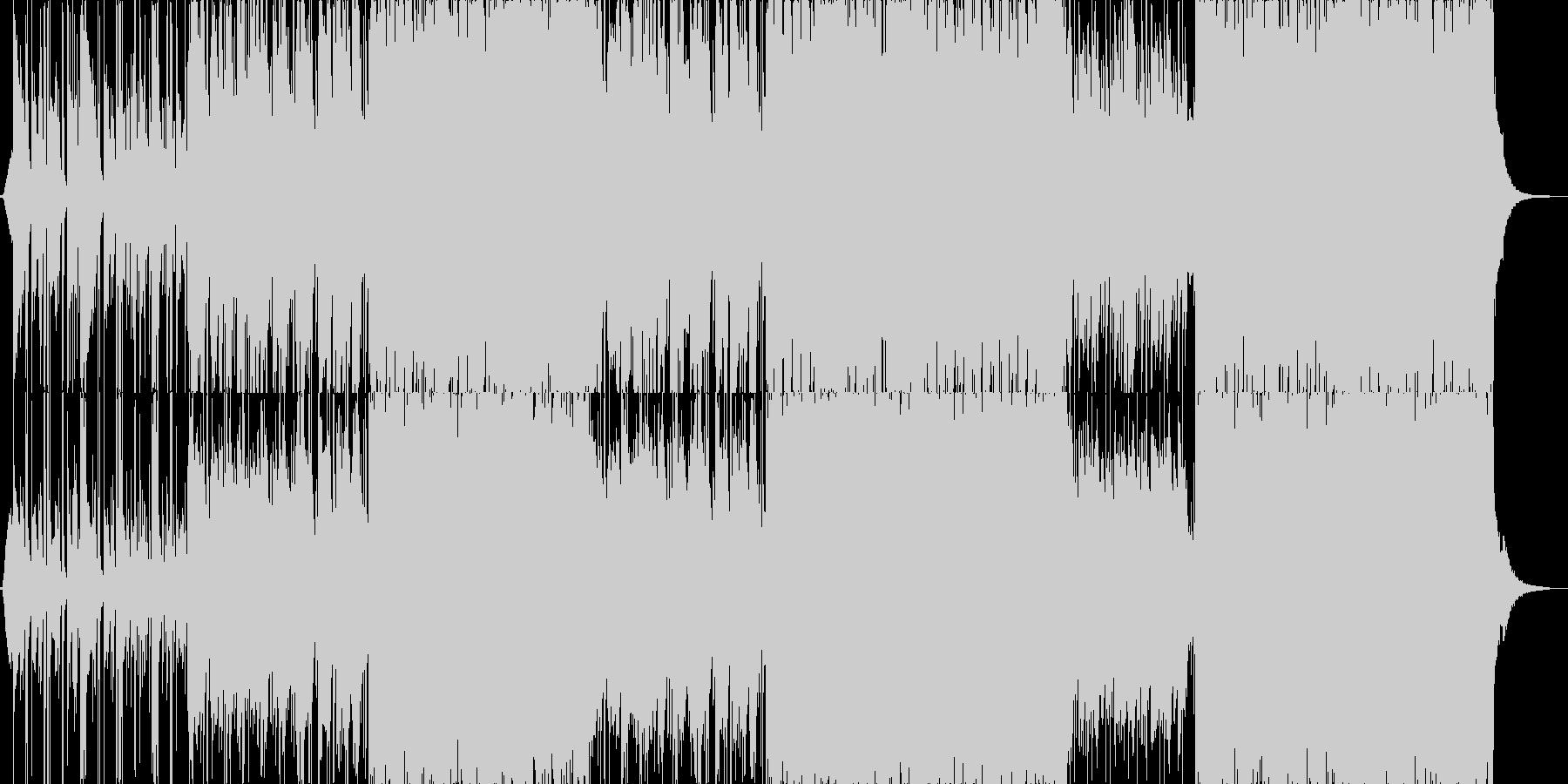 透明感のある和風、和楽器BGM B2の未再生の波形