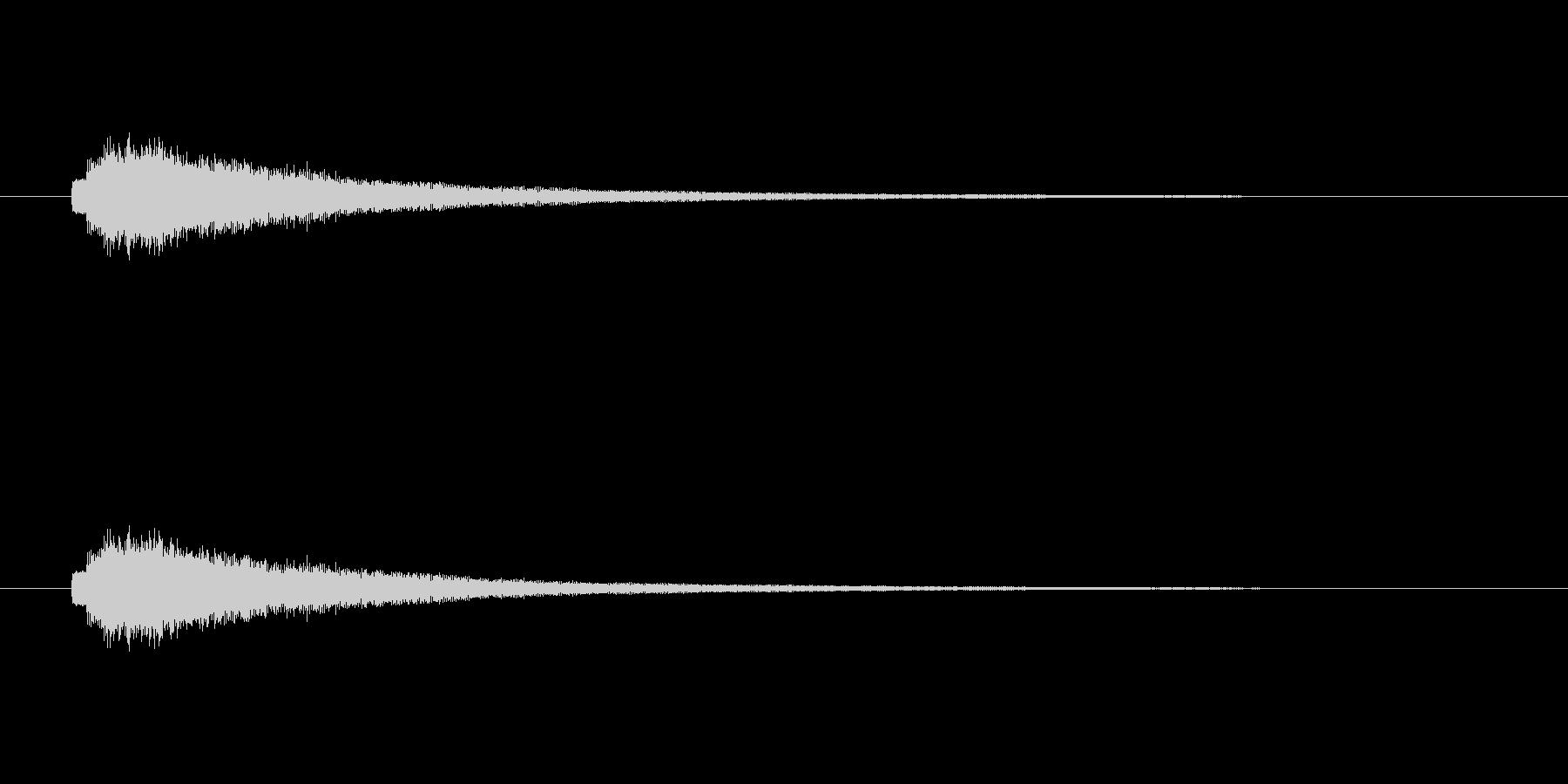 【ショートブリッジ20-3】の未再生の波形