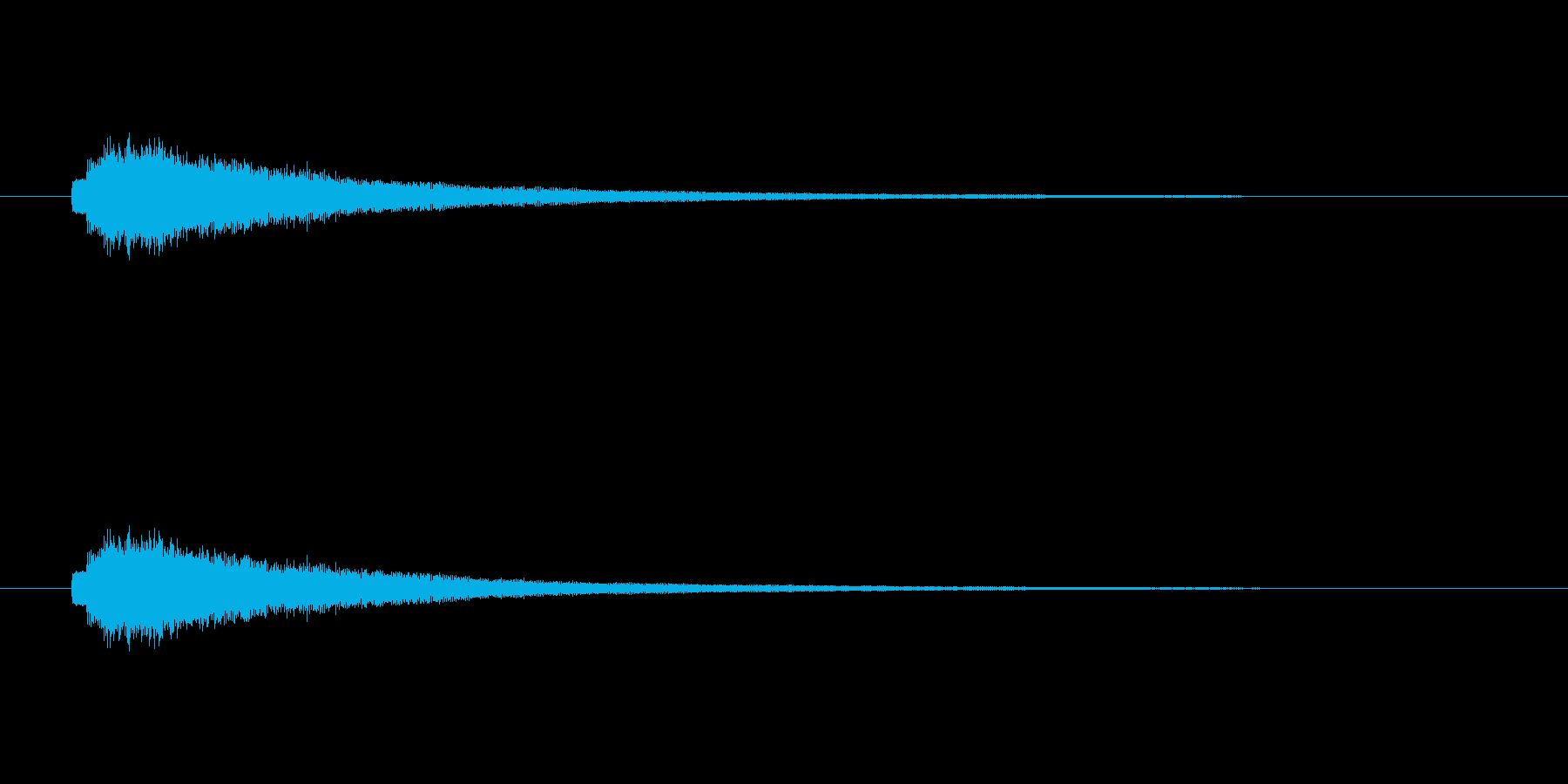 【ショートブリッジ20-3】の再生済みの波形