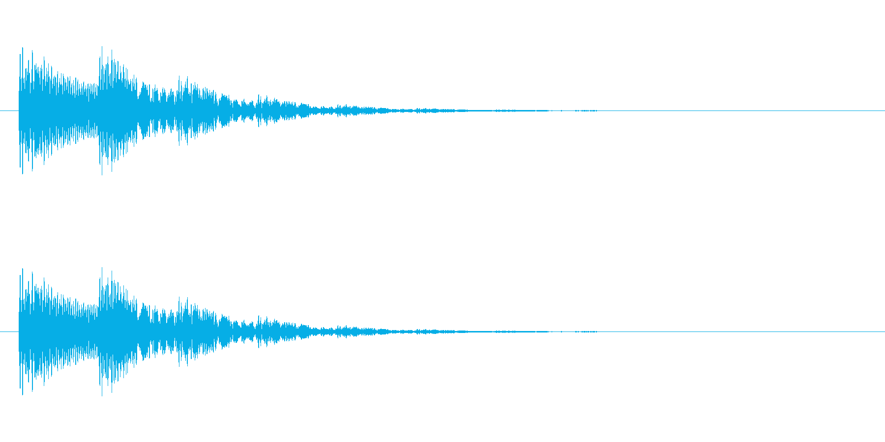【光る05-2】の再生済みの波形