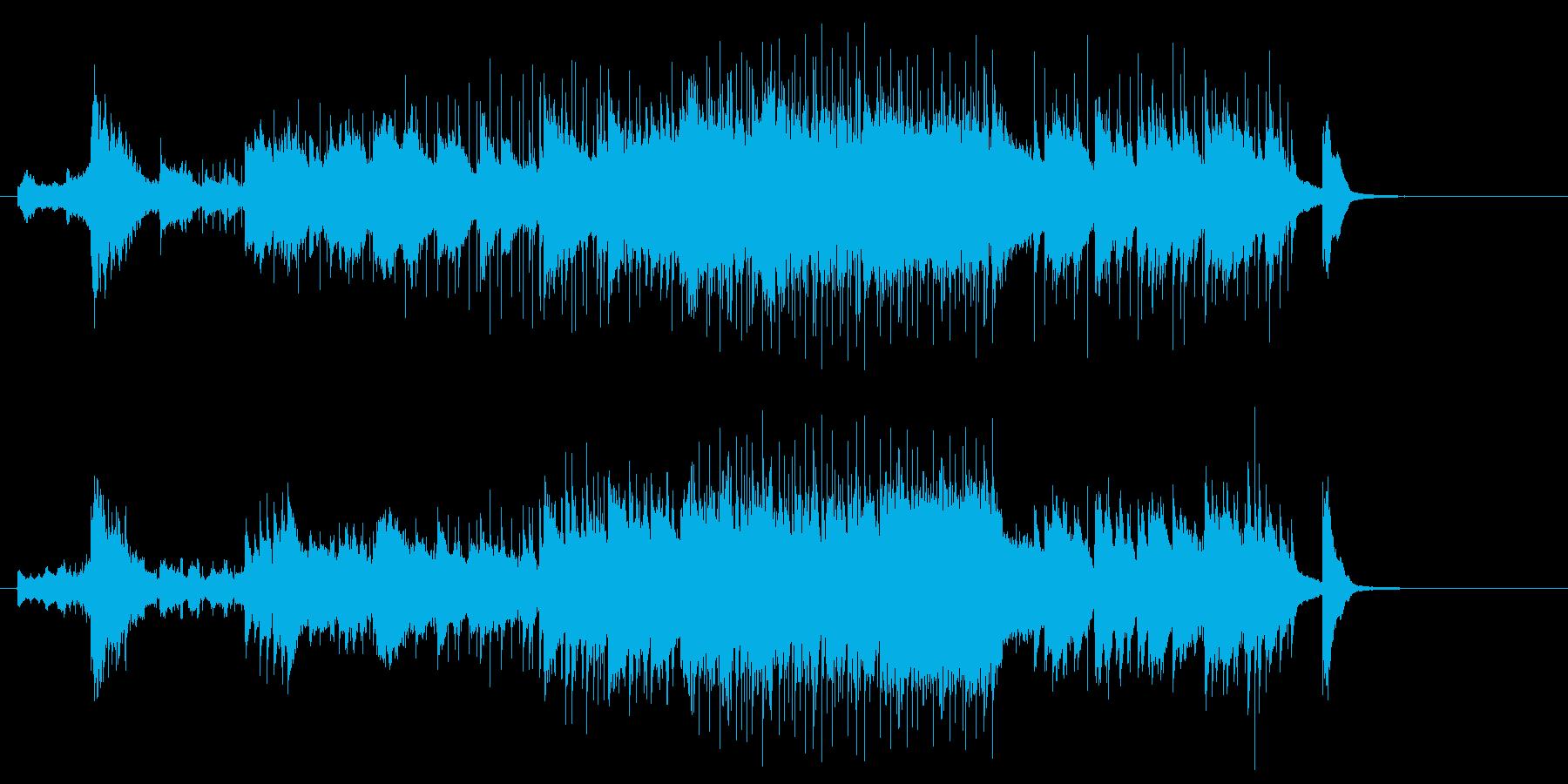 後半盛上げゴ−ジャスで優雅なピアノジャズの再生済みの波形