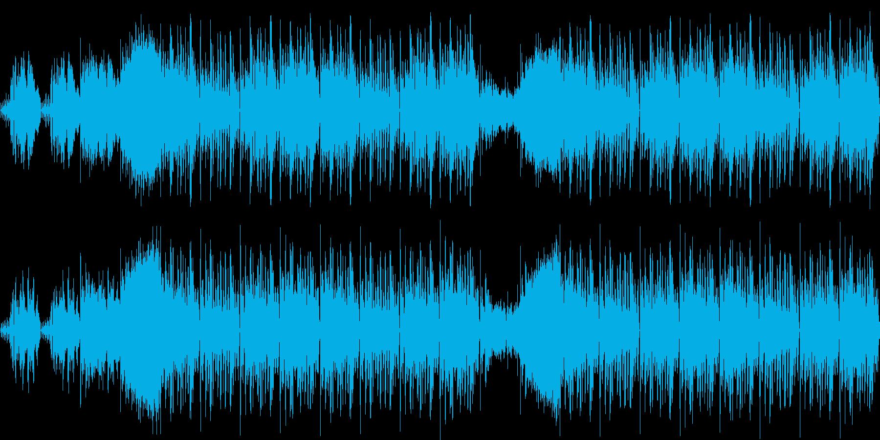 【アジア/サイバーパンクエレクトロニカ】の再生済みの波形