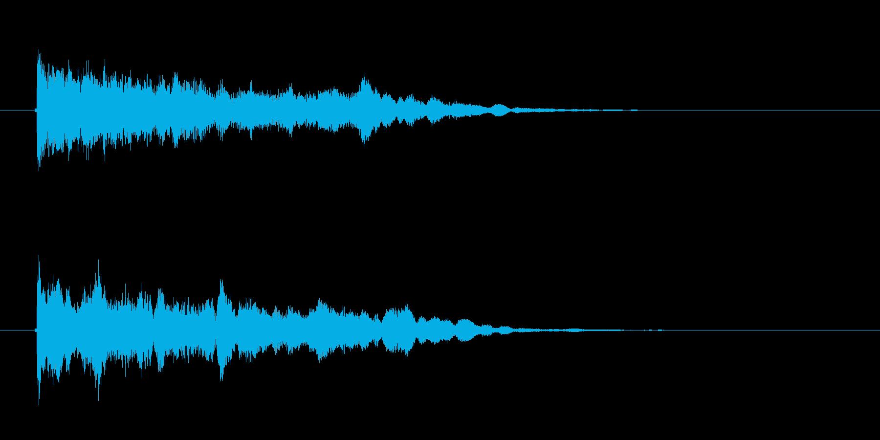 「きゅう?うん?」オリエンタルな弦楽器の再生済みの波形