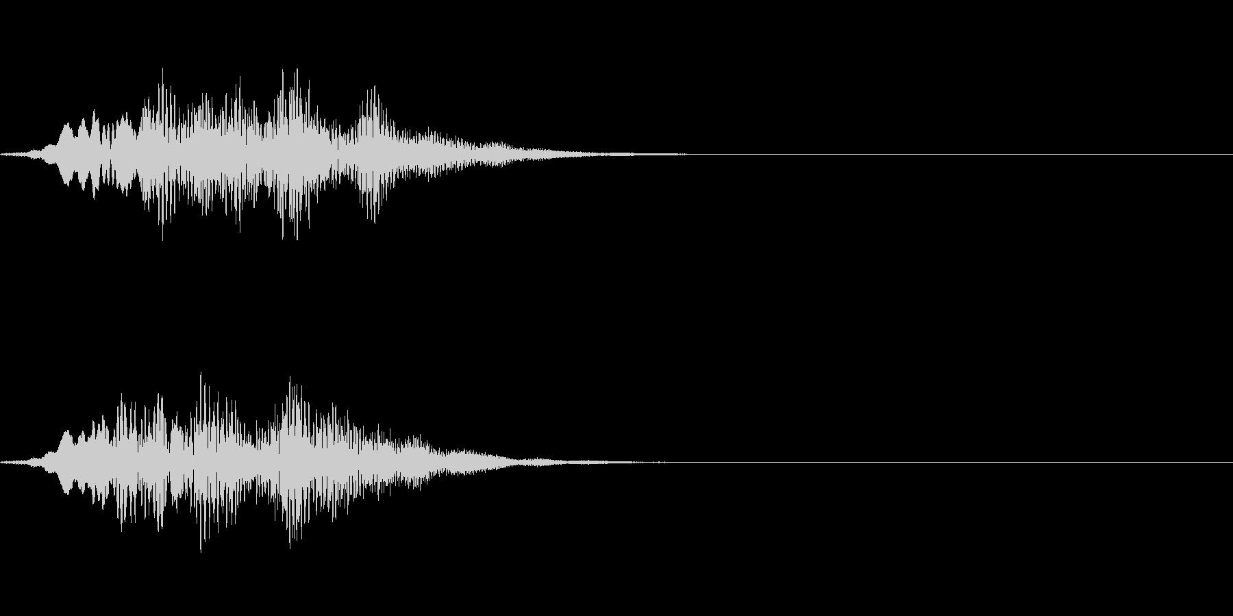 回復・セーブ&ロード時の音の未再生の波形