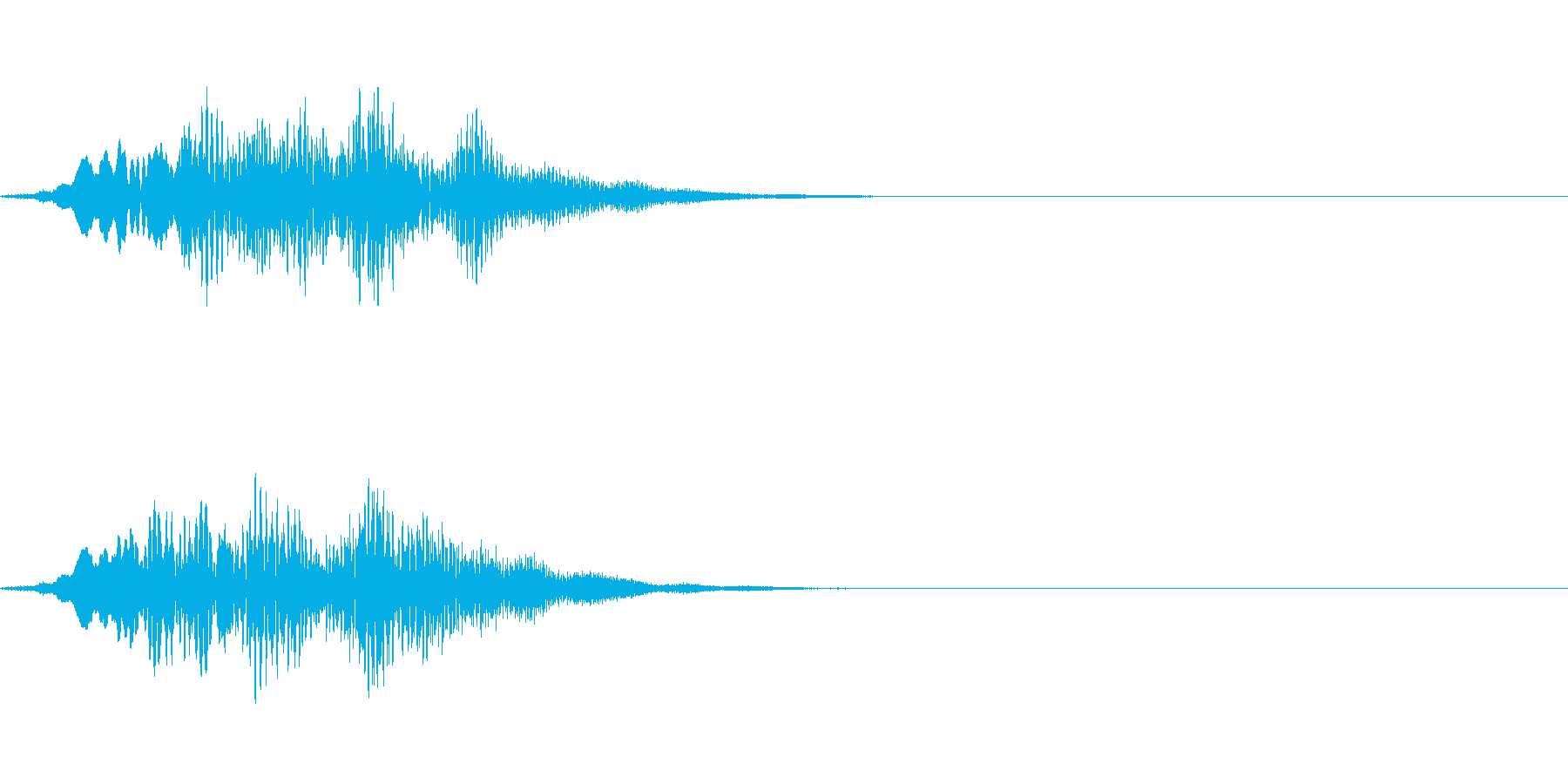 回復・セーブ&ロード時の音の再生済みの波形