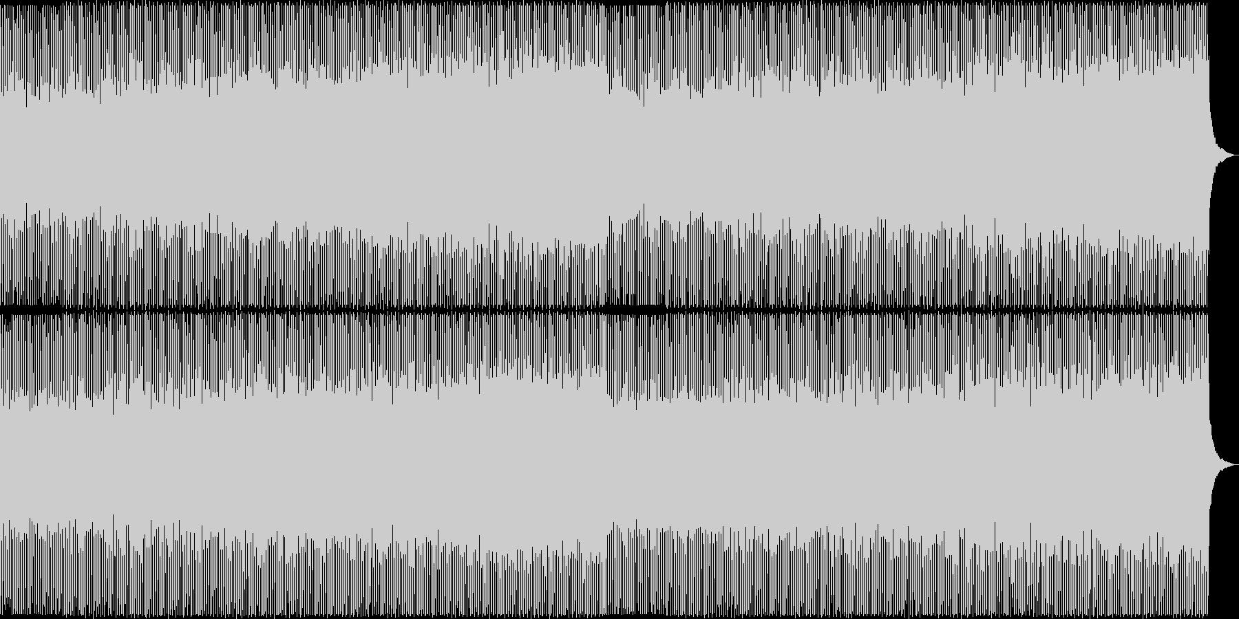 企業VP向け爽やかなポップ4つ打ち3の未再生の波形