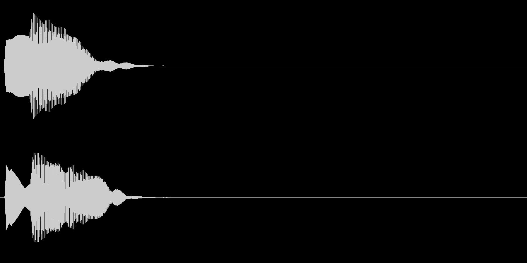 汎用 エレピ系04(小) キャンセル音の未再生の波形