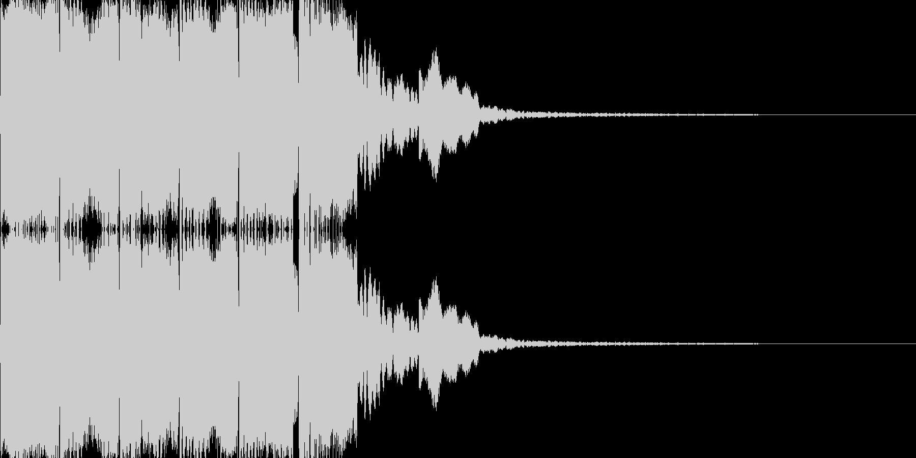 電子音(ピロリロリン)の未再生の波形