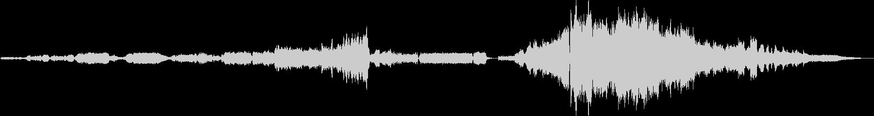 ノクターンNo20ダイナミックな管弦楽版の未再生の波形