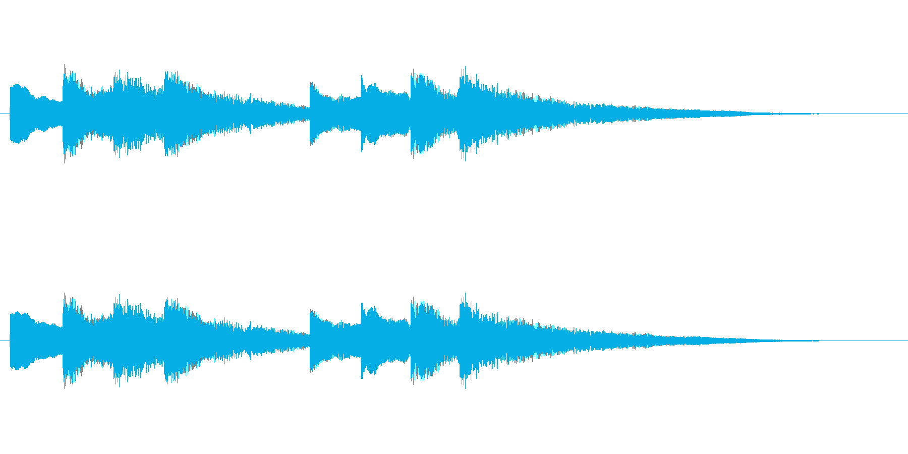 【チャイム 学校02-05】の再生済みの波形