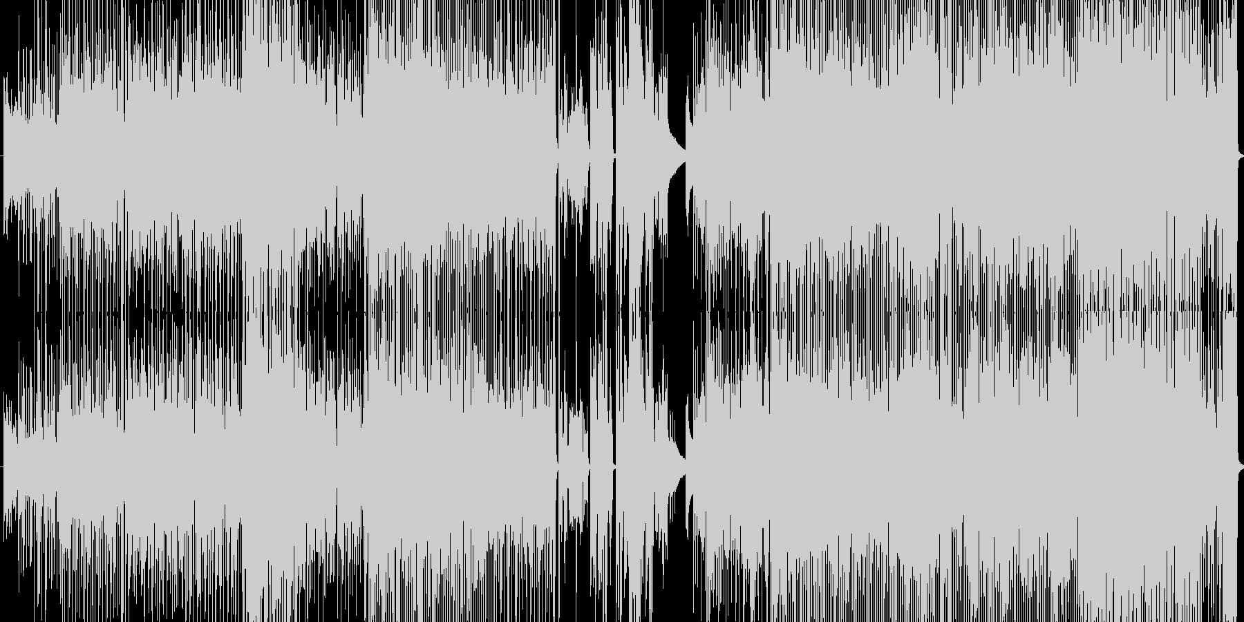 切ないピアノロックの未再生の波形
