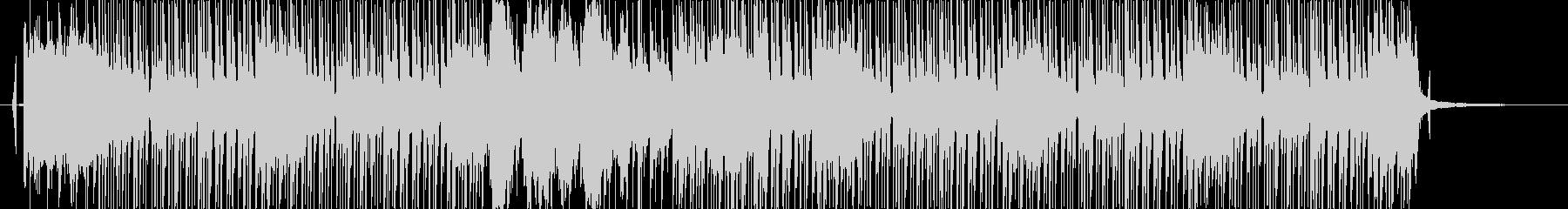 和風で速いテンポの曲の未再生の波形