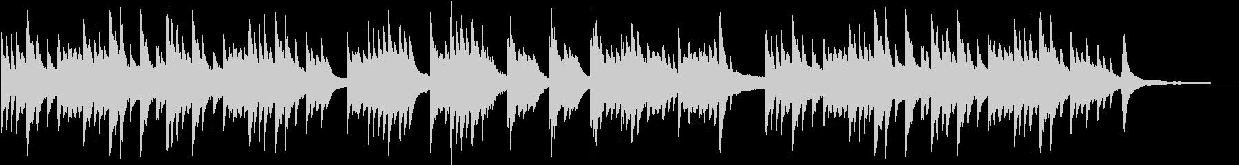メロドラマ3(ピアノソロ)の未再生の波形