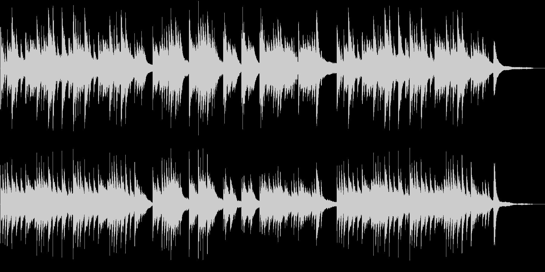 メロドラマ3(ピアノ)の未再生の波形
