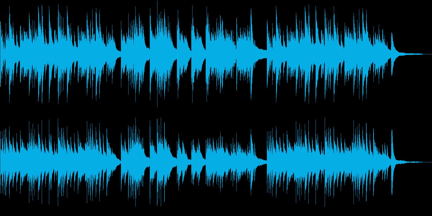 メロドラマ3(ピアノ)の再生済みの波形