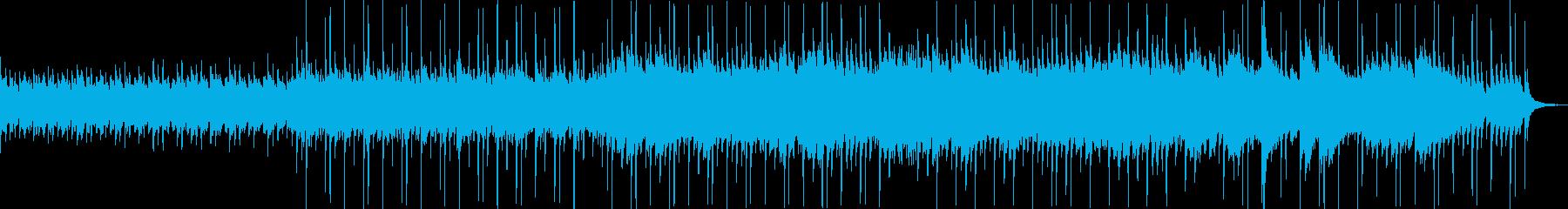 不思議で奇麗な音楽の再生済みの波形