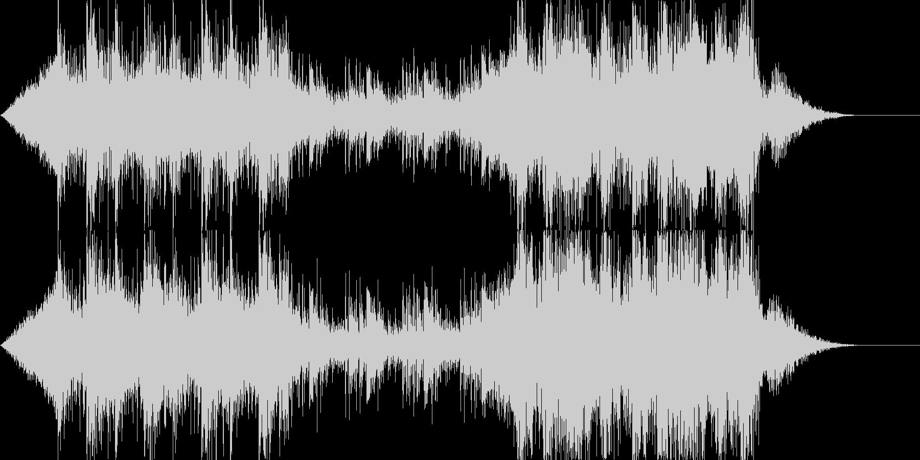 デジタルエスニックなSoundtrackの未再生の波形