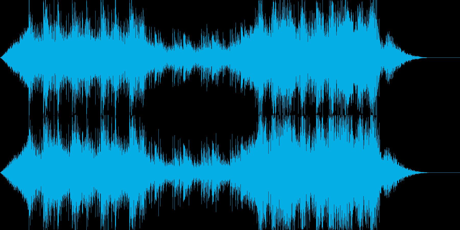 デジタルエスニックなSoundtrackの再生済みの波形