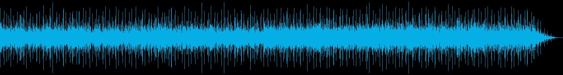 とても心地の良い落ち着いた音の再生済みの波形