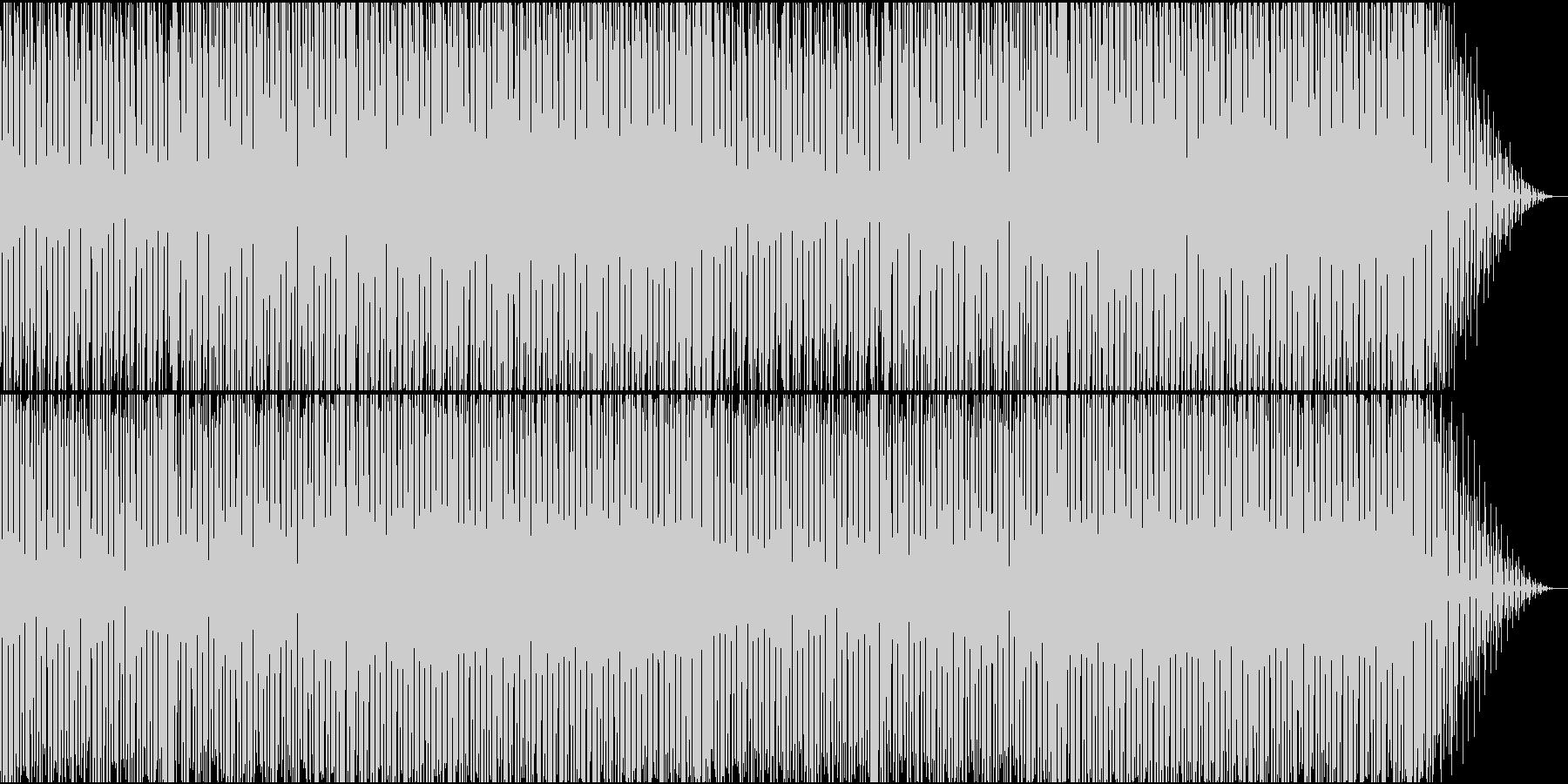 レトロでどこか懐かしいレトロエレクトロの未再生の波形