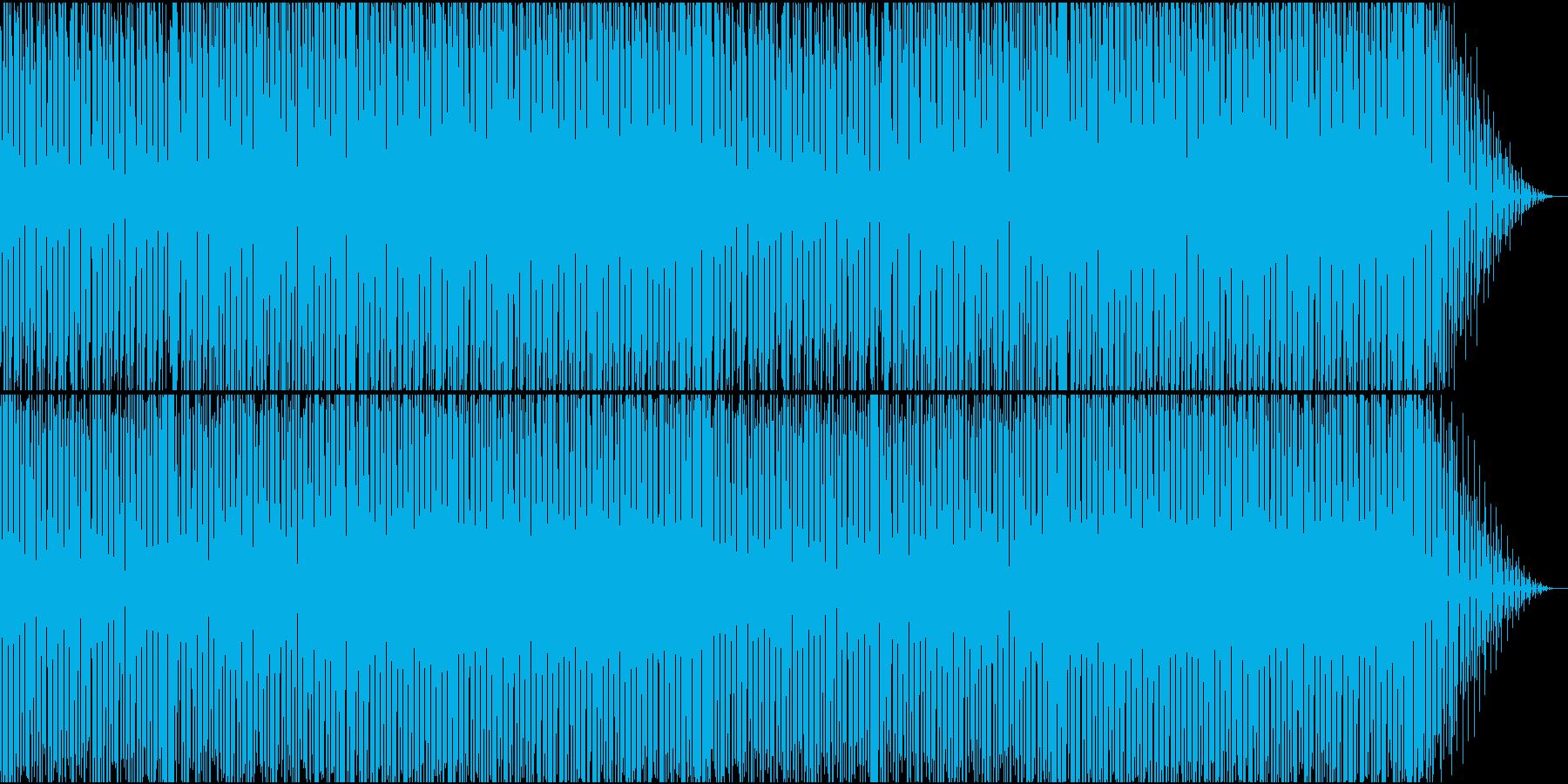 レトロでどこか懐かしいレトロエレクトロの再生済みの波形
