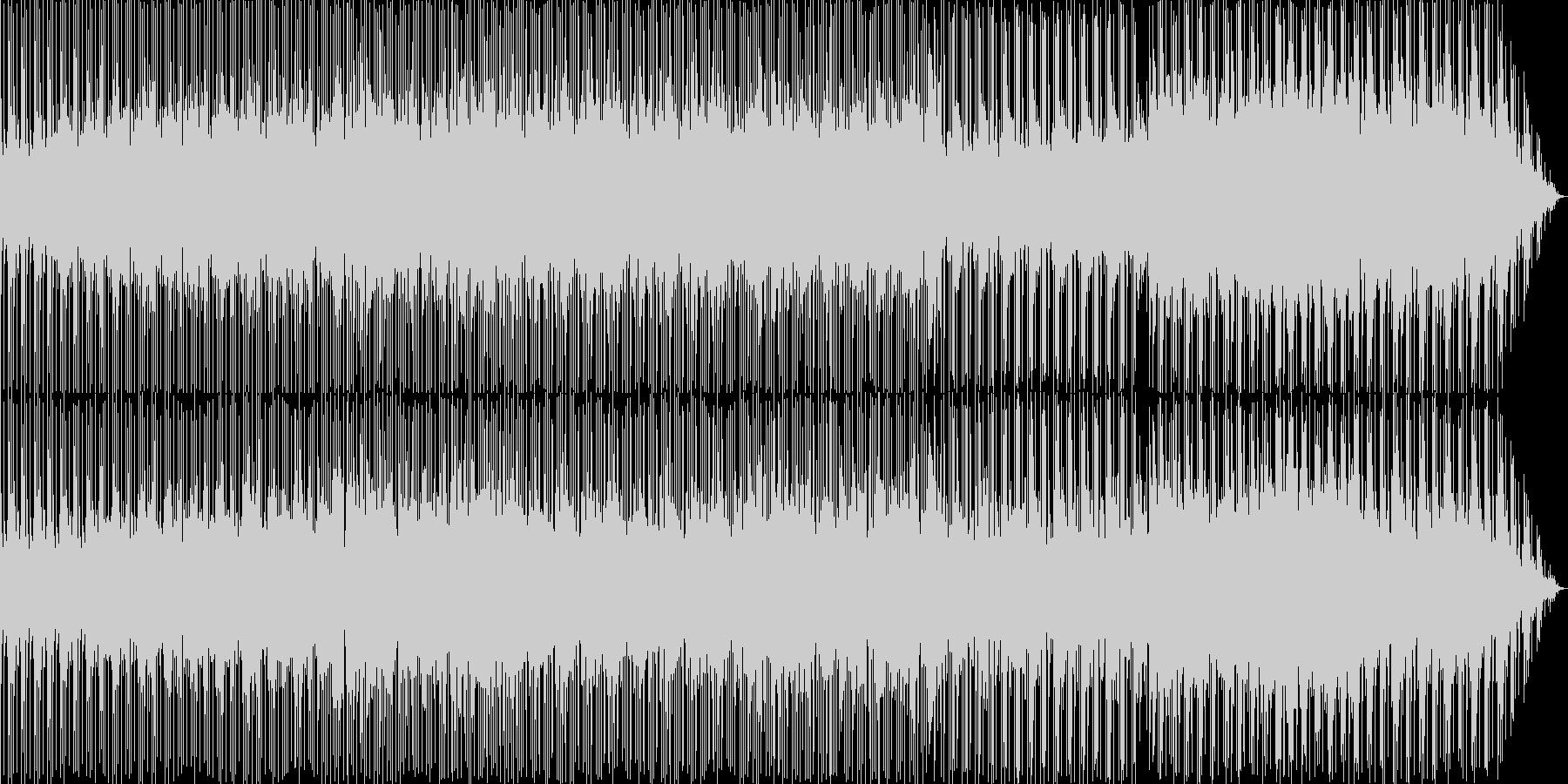場面展開の早いCMのバックに流れるよう…の未再生の波形