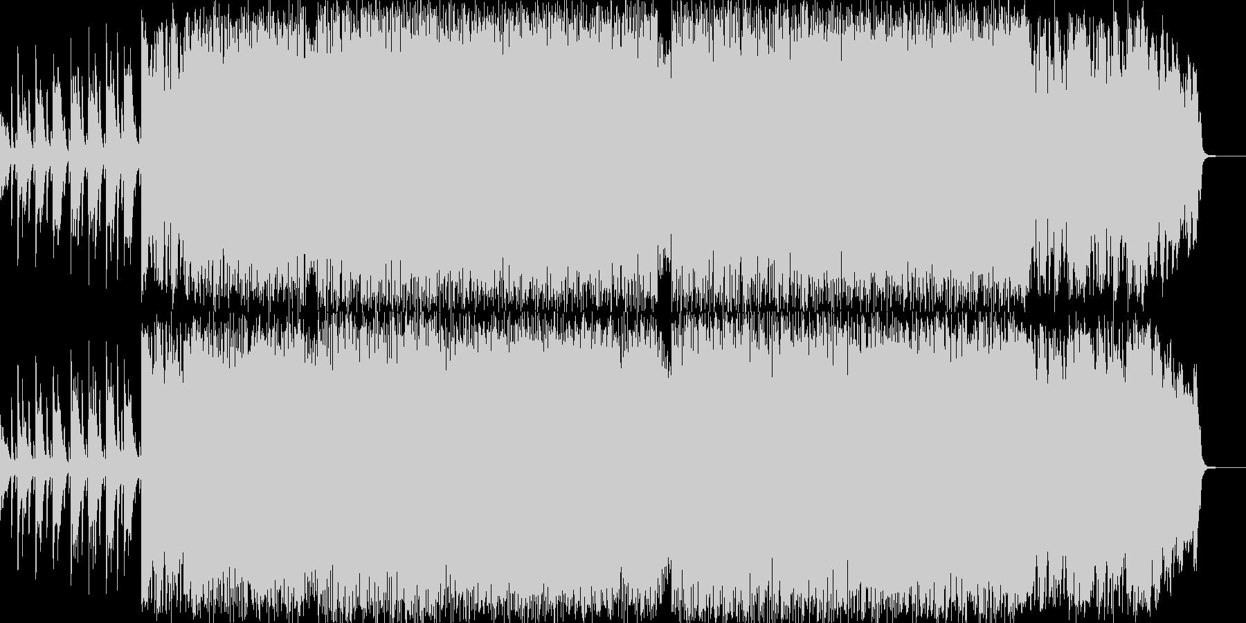 エレクトロニカ・ロックの未再生の波形