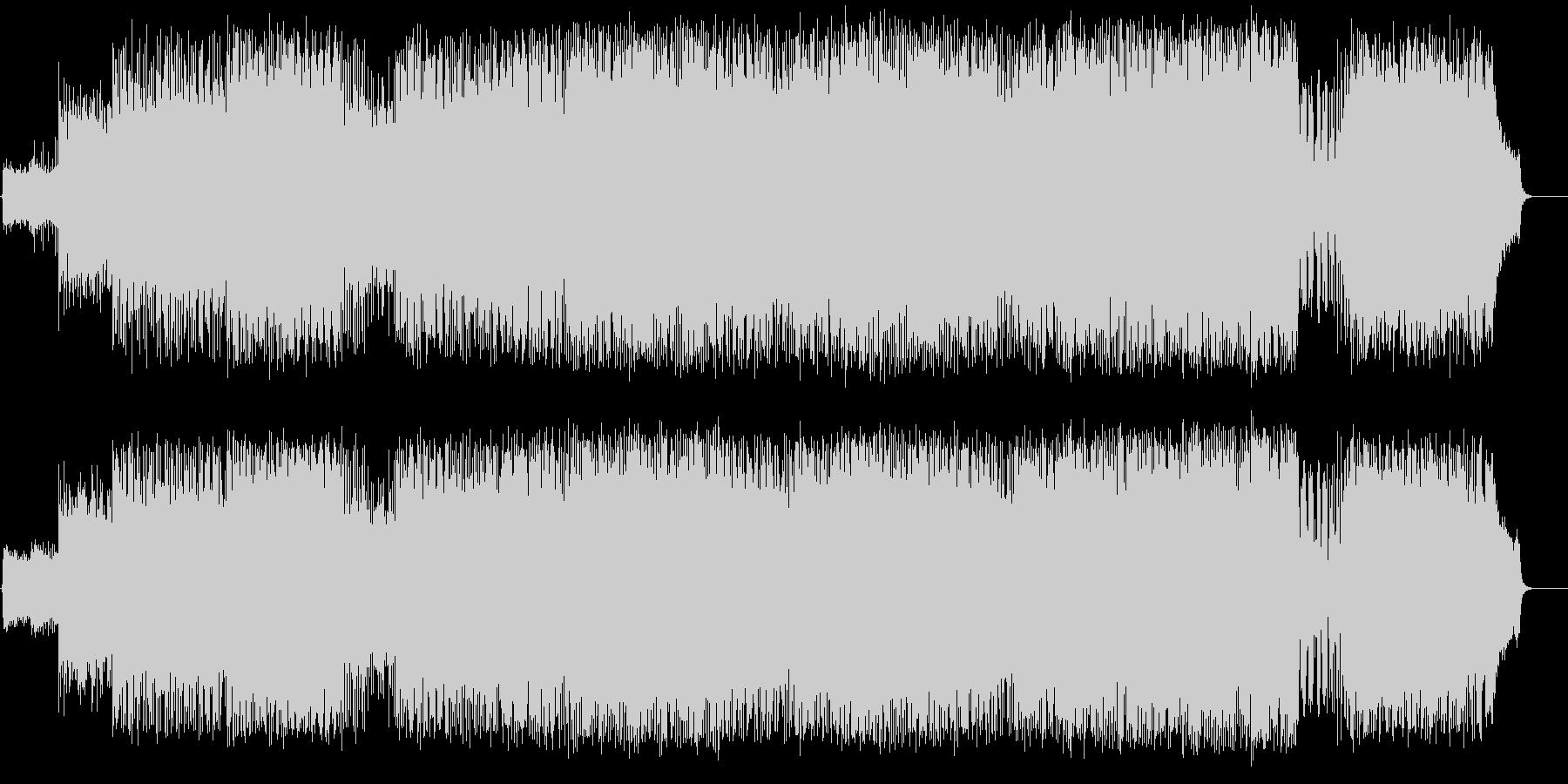 トワイライトエレクトリックサウンドの未再生の波形