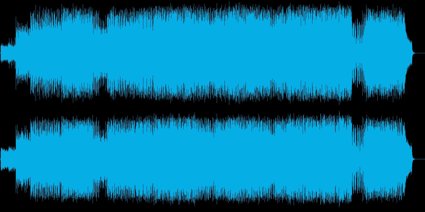 トワイライトエレクトリックサウンドの再生済みの波形