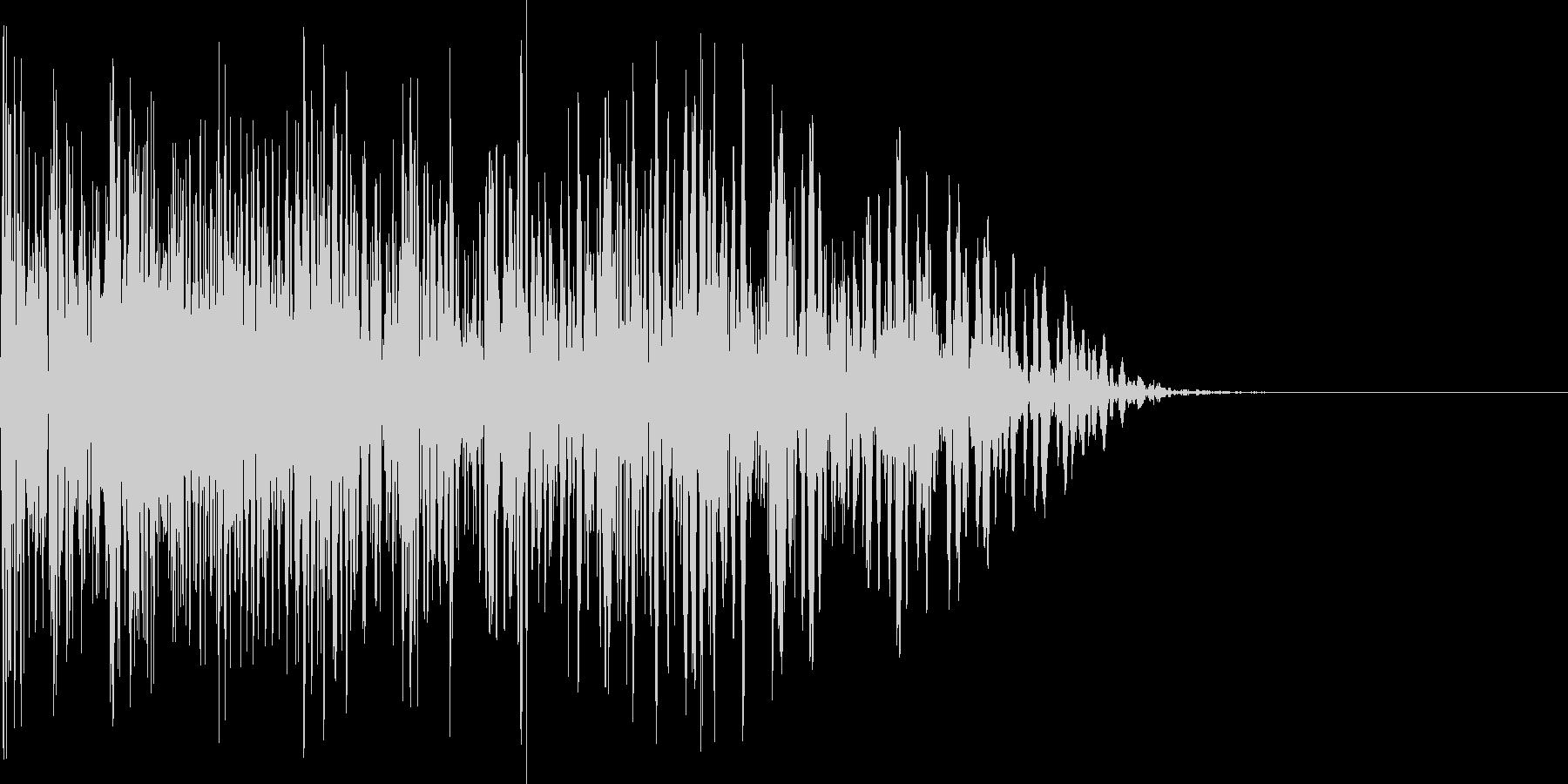 爆発音、爆発タイプスキルの未再生の波形