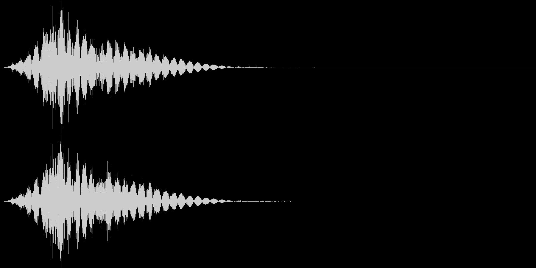 KAKUGE 格闘ゲーム戦闘音 63の未再生の波形