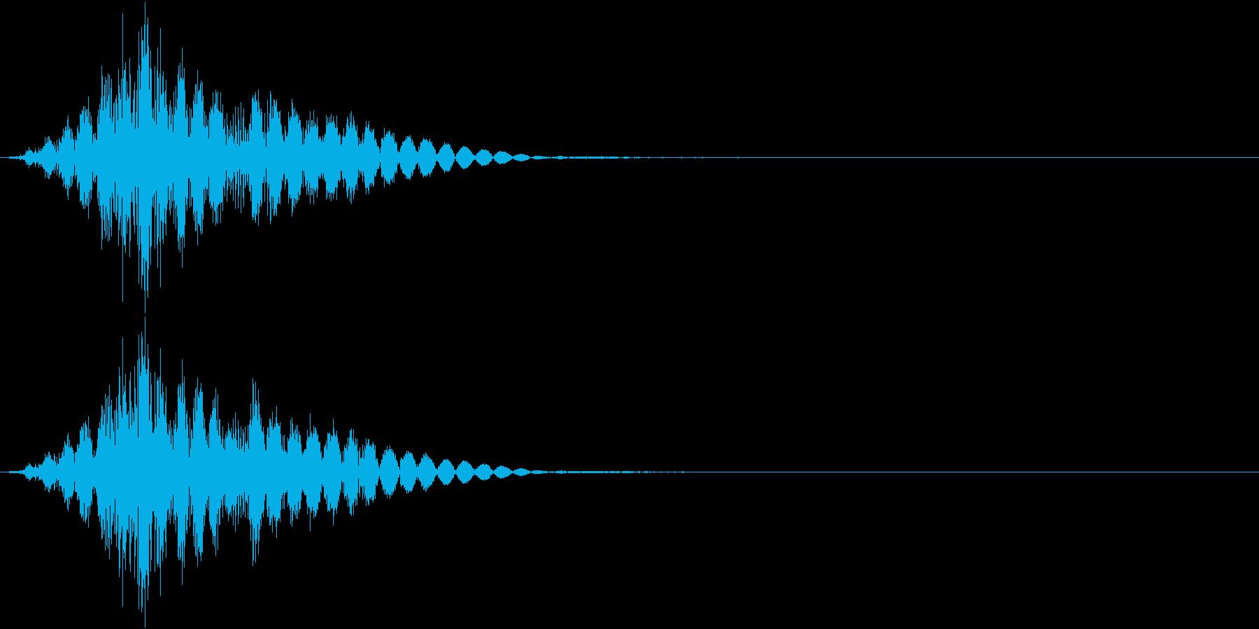 KAKUGE 格闘ゲーム戦闘音 63の再生済みの波形
