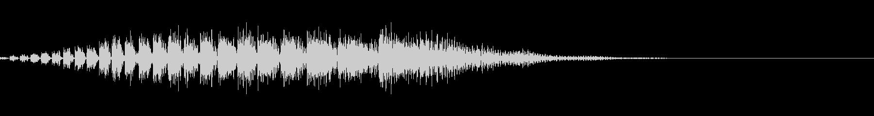 サウンドロゴの未再生の波形