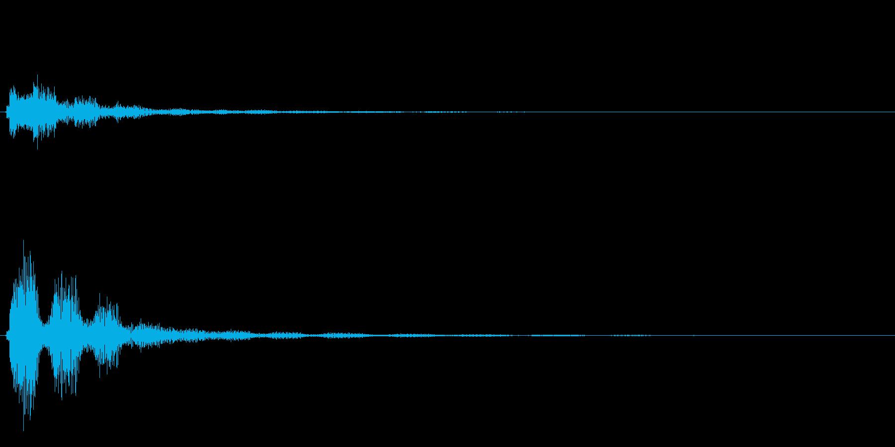 キラキラ系_064の再生済みの波形