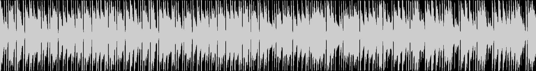 お洒落なボサノバ(メロディ無し・ループ)の未再生の波形