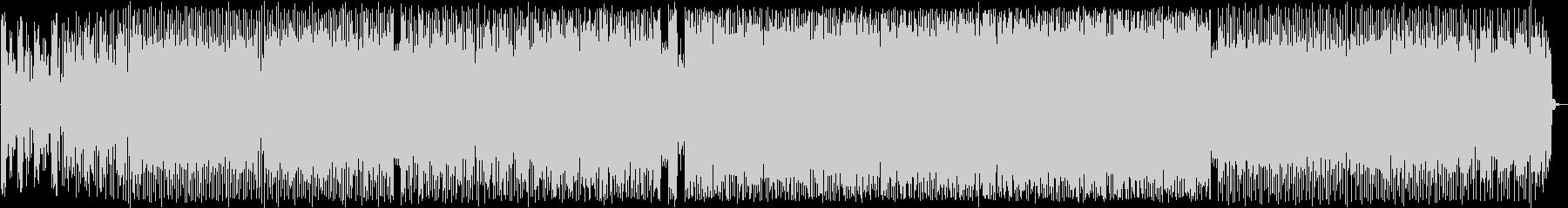 コミカルなシンセポップハウス系EDMの未再生の波形
