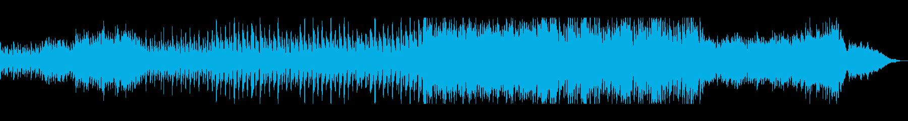 穏やかな自然を感じるチルアウト曲の再生済みの波形