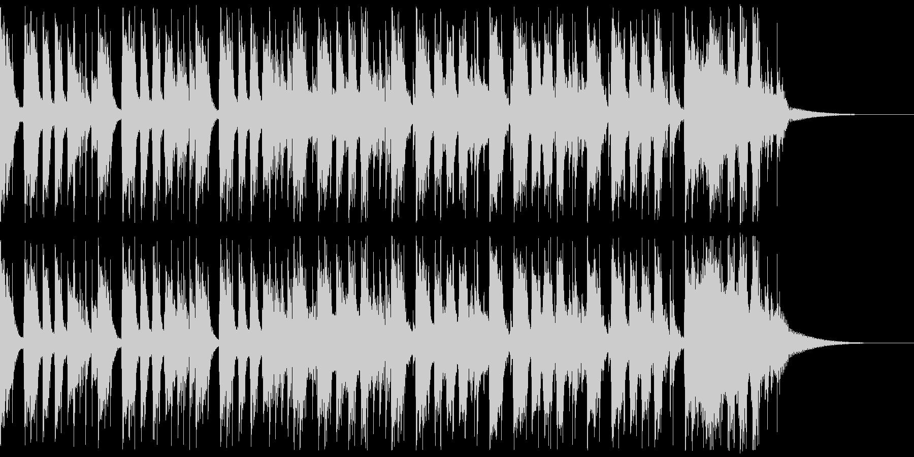 かっこいいロックギターイントロverAの未再生の波形