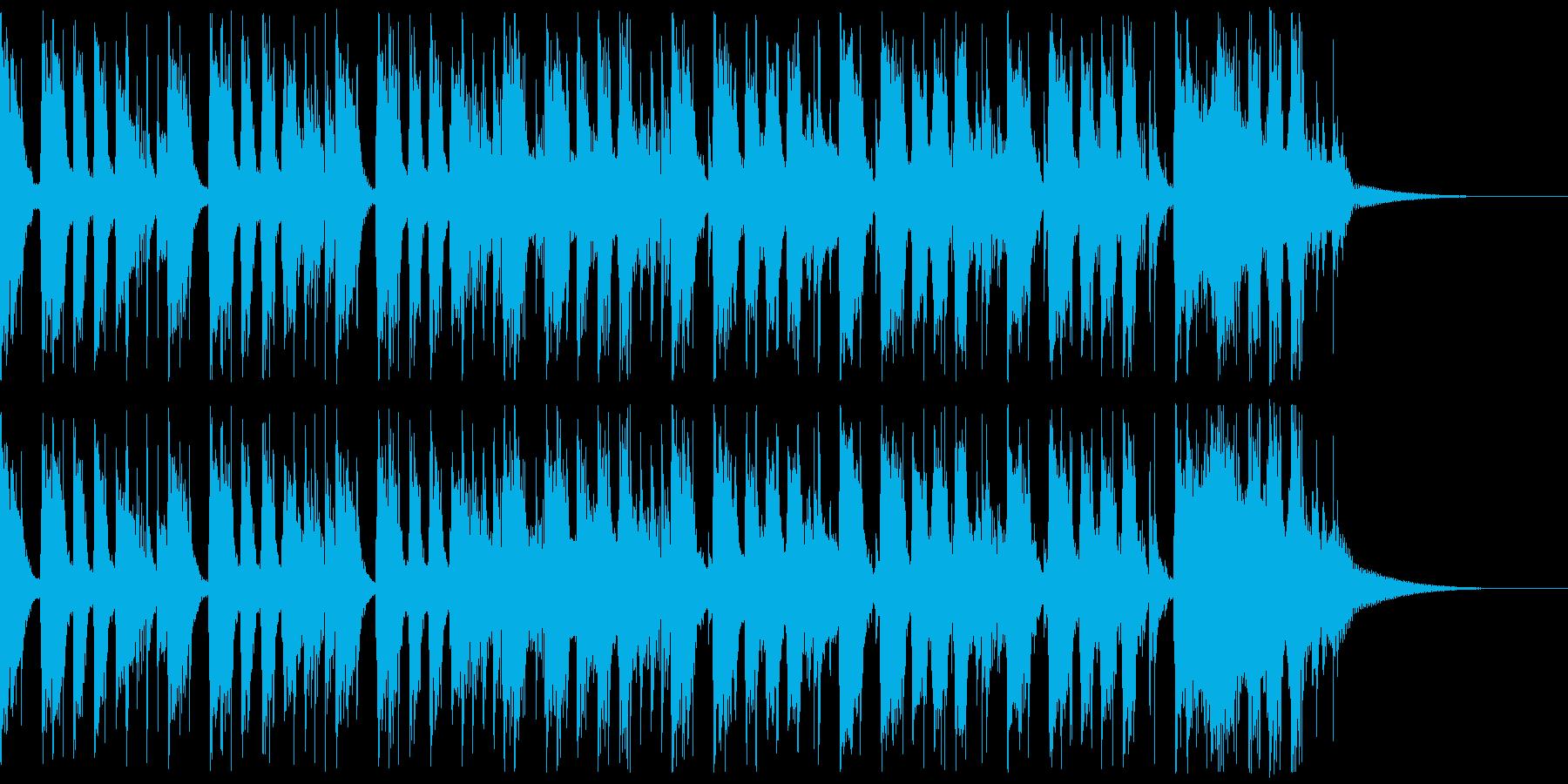 かっこいいロックギターイントロverAの再生済みの波形
