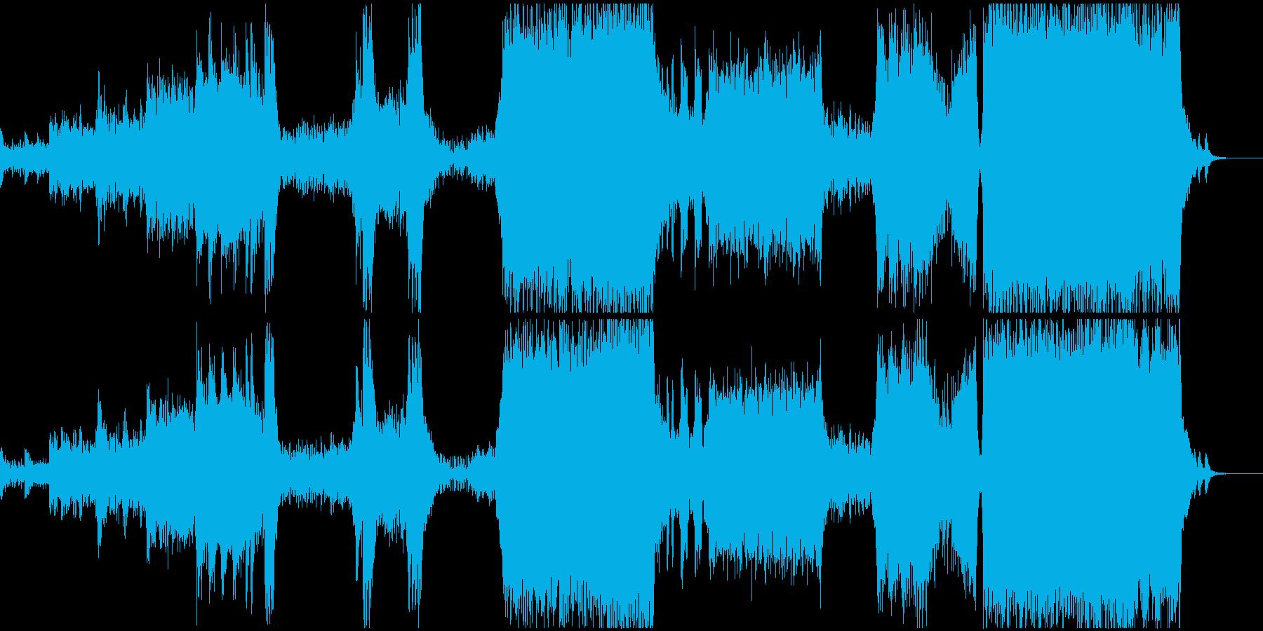 壮大なハリウッドサウンドの再生済みの波形