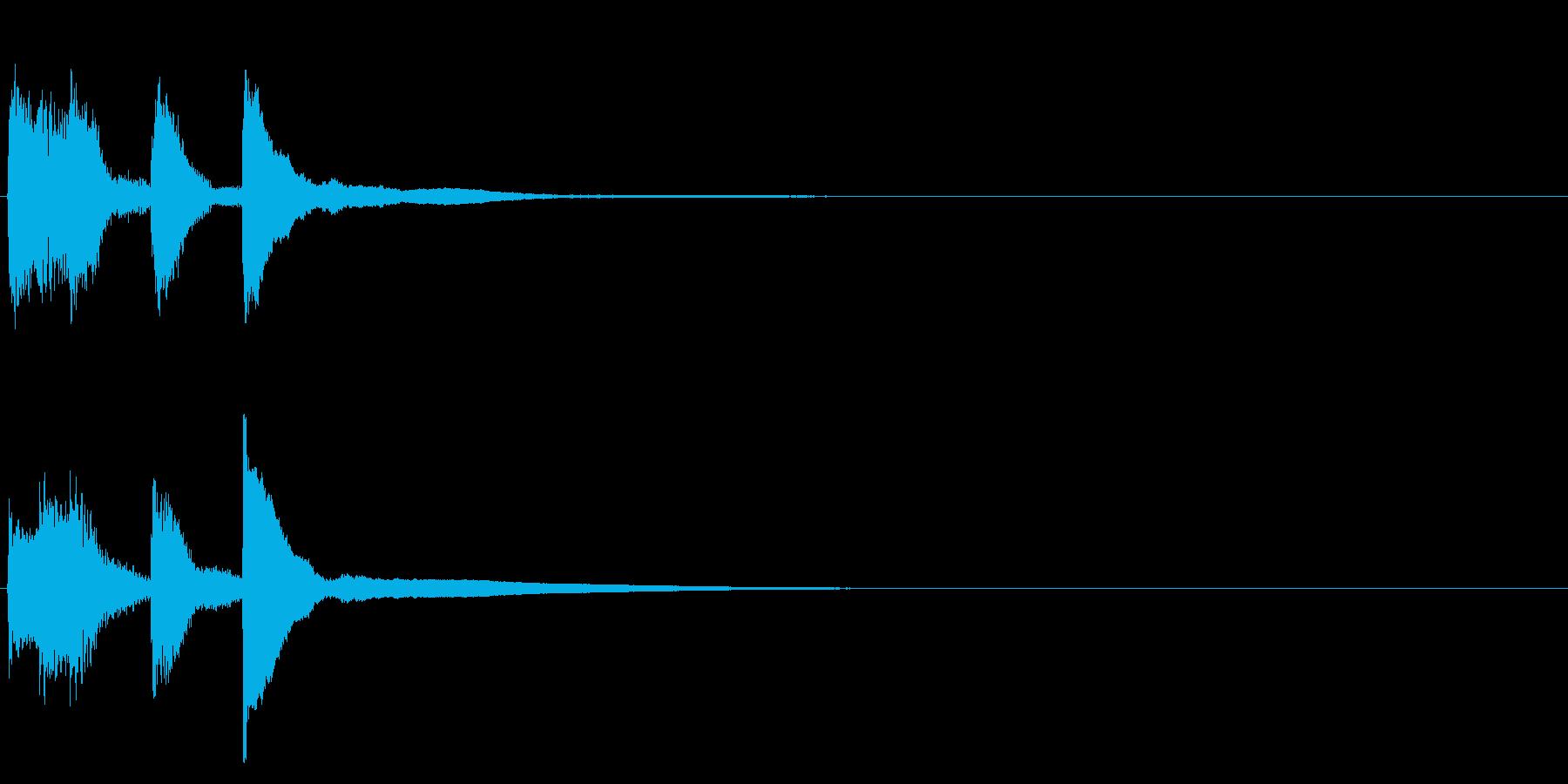 サウンドロゴ(企業ロゴ)_023の再生済みの波形