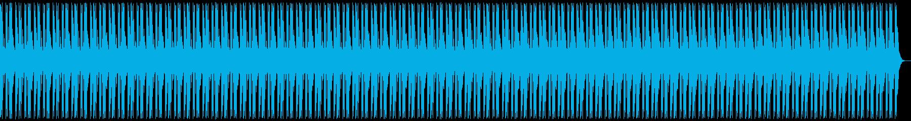 フリースタイル用ビートの再生済みの波形